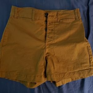 Old Navy High Rise Shorts w/Button Closure Size 0